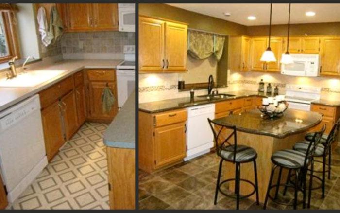 Kitchen countertop edging kitchen with laminate countertops bst quartz stone pre 42 kitchen - Discount countertops indianapolis ...